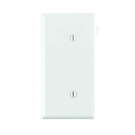 Leviton End Section 1 gang White Nylon Blank Wall Plate 1 pk