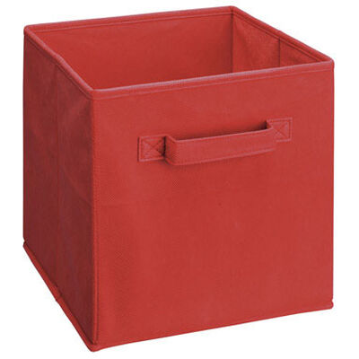 ClosetMaid 10-1/2 in. L x 11 in. H x 10-1/2 in. W Cubeical Drawer Red
