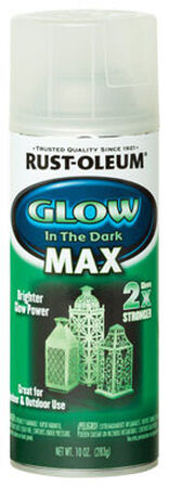 Rust-Oleum Specialty Green Glow in the Dark MAX Spray Paint 10 oz.