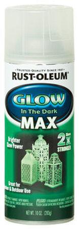 Rust-Oleum Specialty Green Glow in the Dark MAX Spray Paint 10 oz.