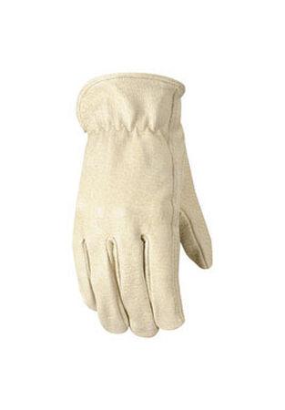 Wells Lamont Bucko Men's Large Leather Driver Work Gloves