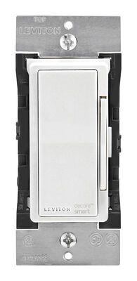 Leviton Decora Smart 15 amps 600 watts WiFi Smart Dimmer Switch White Ivory Light Almond