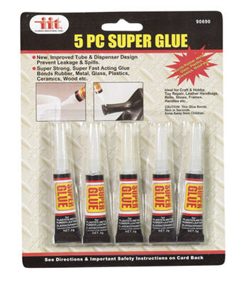 JMK IIT Household Super Glue 5 pk