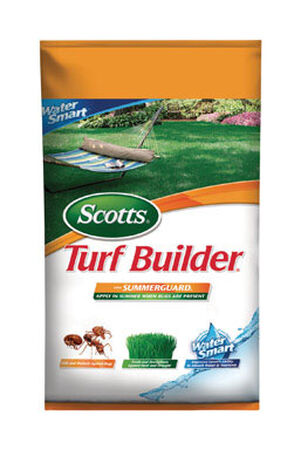 Scotts Turf Builder Lawn Fertilizer Summer 5000 sq. ft. Granules 28-0-8
