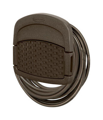 Suncast Hose Hangout Wall Mount Hose Holder 150 ft. Brown