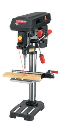 Craftsman 1/2 in. Dia. Bench Drill Press 5/8 hp