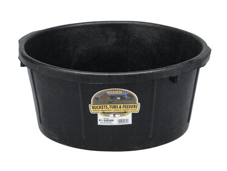 Miller 6.5 gal. All-Purpose Tub For Livestock 8 in. H x 18 in. D