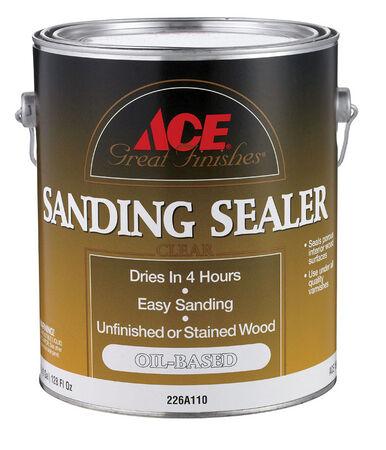 Ace Oil-Based Sanding Sealer Clear 1 gal.