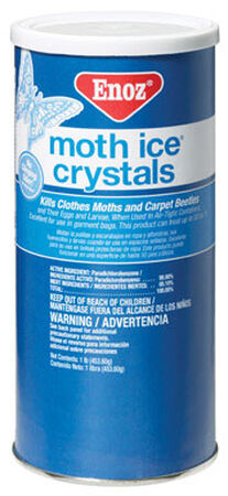 Enoz Moth Ice Crystals Moth Crystals 1 lb.