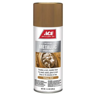 Ace Gold Metallic Spray Paint 11.5 oz.