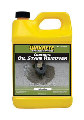 GAL QUIKRETE OIL STAIN REMOVER