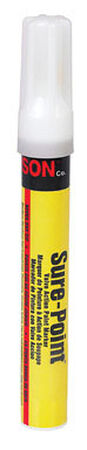 C.H. Hanson Sure-Point White Valve Tip Paint Marker 1 pk