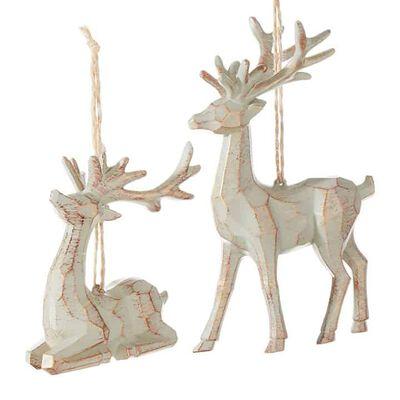 "5.5"" Deer Ornament"