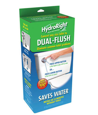Danco Dual Flush Converter 11-1/2 in. H x 5-1/2 in. L Plastic