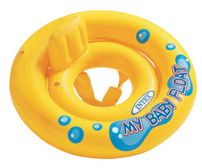 Intex Yellow Vinyl Baby Float