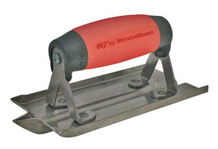 Marshalltown Steel Concrete Groover 6 in. L x 3 in. W