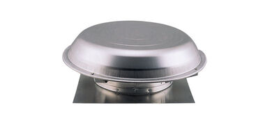 Air Vent Power Attic Ventilator 26.25 in. x 25.5 in. x 9 in. 9 in. 14 in. 4.4 sq. ft. 1 320 cfm 1/8
