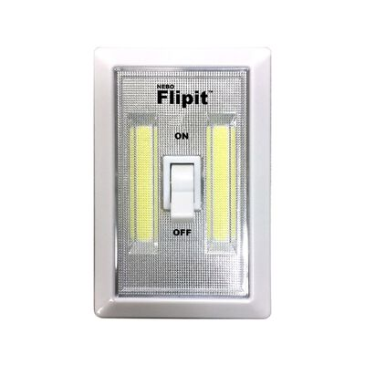 Nebo Flipit 215 lumens Night Light w/Switch AAA White LED