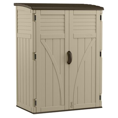 Suncast Vertical Storage Shed 71-1/2 in. H x 53 in. W x 32-1/2 in. D