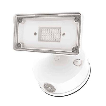 Halo Switch Hardwired LED White Floodlight
