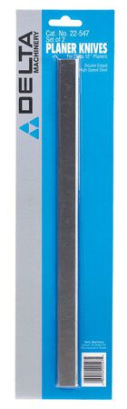 Delta High Speed Steel 12 in. L Planer Knives 2 pk