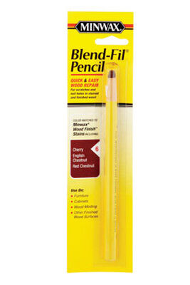 Minwax Blend-Fil No. 6 Cherry Chestnut English Chestnut Red Walnut Wood Pencil Wood