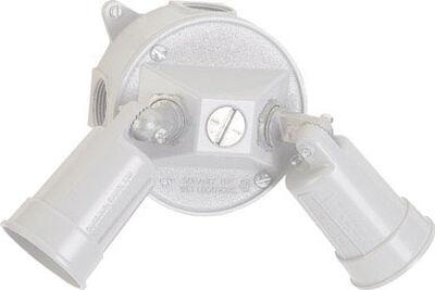 Sigma Weatherproof Lamp Holder 1-3/16 in. H x 4-3/4 in. L White