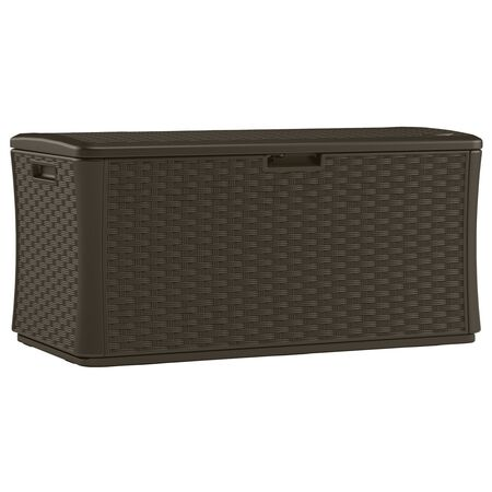 Suncast Deck Box Plastic 27 in. H x 55 in. D x 28.5 in. W