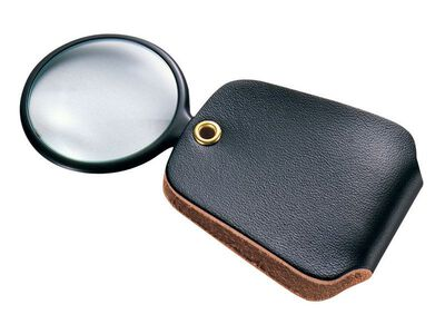 General Tools Pocket Magnifier 4 in. Carded
