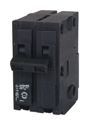 GE Q-Line Double Pole 30 amps Circuit Breaker