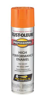 Rust-Oleum Professional Safety Orange Gloss Enamel Spray 15 oz.