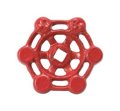 B & K 2 in. FPT Red Wheel Handle