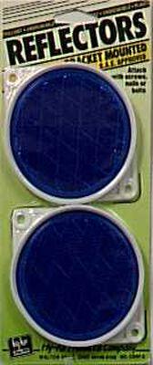 Hy-Ko Reflectors Blue