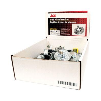 Ace Wire Wheel Brushes 2 in. Coarse Fine 4 500 rpm Coarse Fine