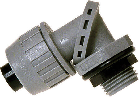Raco Swivel Lok 3/4 in. Dia. Nylon Electrical Conduit Connector Type B