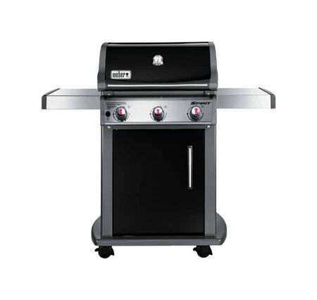 Weber Spirit E-310 Natural Gas Freestanding Grill Black 3