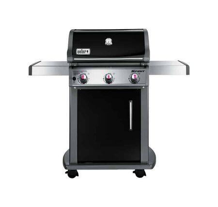 Weber Spirit E-310 Natural Gas Freestanding Grill Black 3