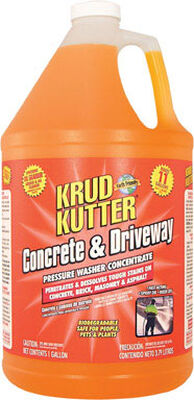 Krud Kutter Concrete & Driveway 1 gal. Pressure Washer Concentrate