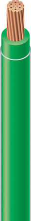 Southwire 500 ft. 10/1 THHN Stranded Wire Green - Sold by the foot