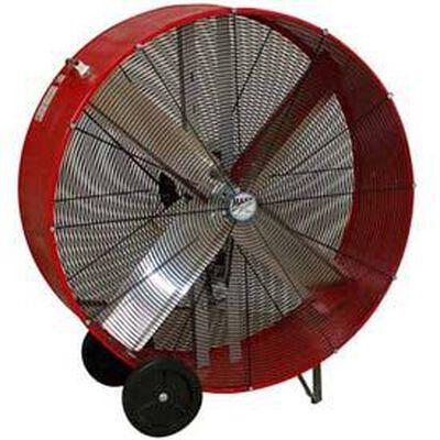 """Portable Air Circulator 42"""" Belt Drive Drum Fan"""