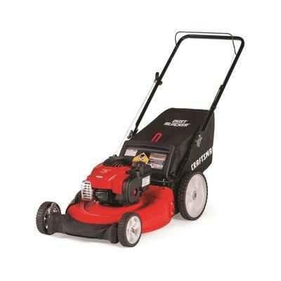 Craftsman High-Wheel 21 in. W 140 cc Manual-Push Mulching Capability Lawn Mower