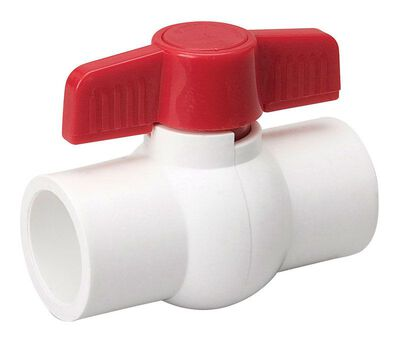 Mueller Ball Valve 3/4 in. Dia. PVC