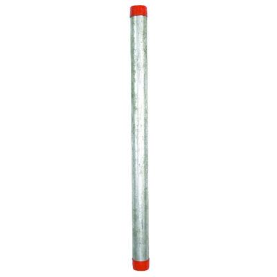 Ace 1-1/2 in. Dia. x 30 in. L Gray Galvanized Pre-Cut Pipe