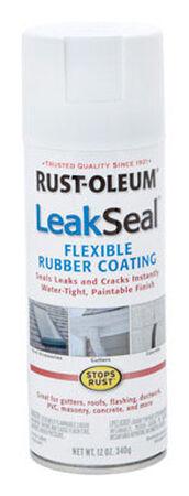 Rust-Oleum LeakSeal Rubberized Flexible Rubber Sealant 12 oz. White