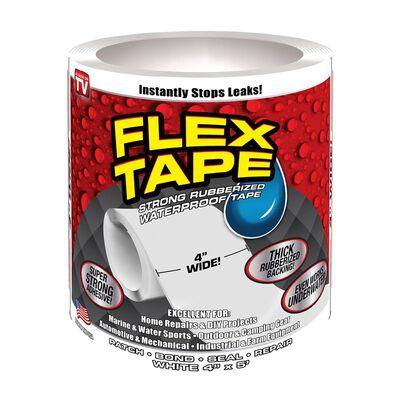Flex Tape As Seen on TV Waterproof Repair Tape 4 in. W x 5 ft. L White