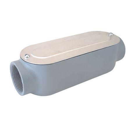 Sigma 1/2 in. Dia. x 4-13/16 L Die-Cast Aluminum Conduit Body