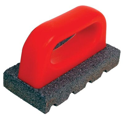 Marshalltown Sandblock Rub Brick 3 in. W x 6 in. L