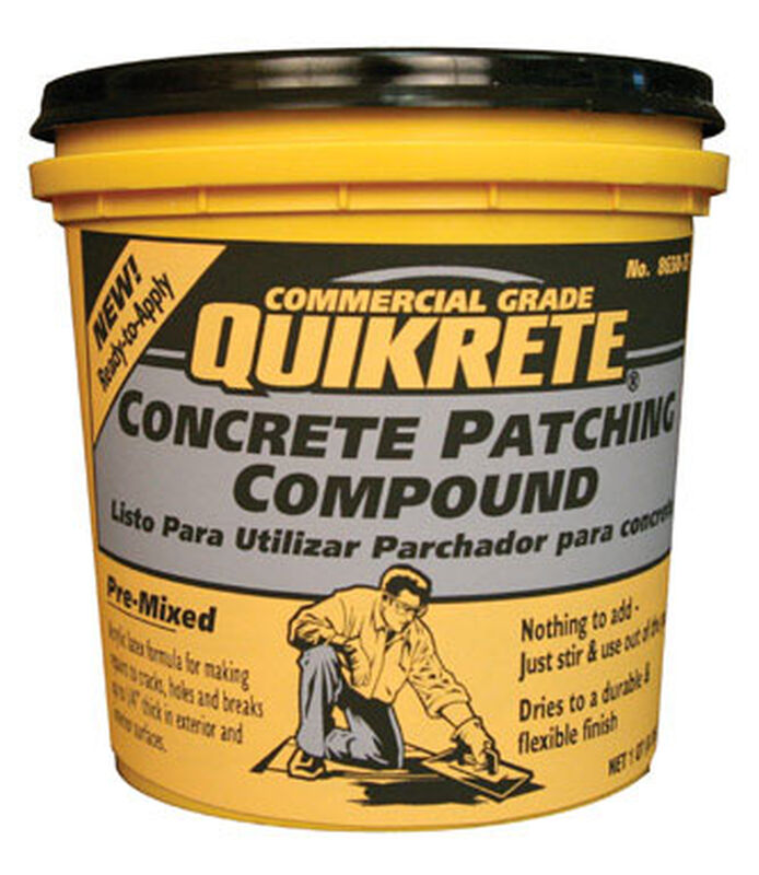 Qt Concrete Patching Compound Stine Home Yard The