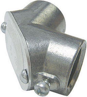 Sigma 3/4 in. Dia. Zinc Electrical Conduit Elbow EMT