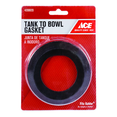Ace Tank to Bowl Gasket 4-3/16 in. H x 2-3/8 in. L Rubber